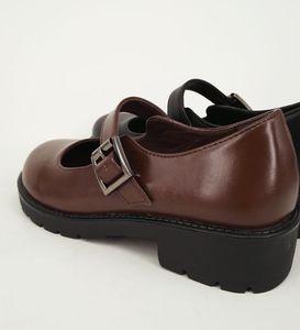 Image 5 - Японская школьная форма; Обувь Uwabaki JK с круглым носком и пряжкой; Женская обувь в стиле Лолиты для костюмированной вечеринки на среднем каблуке; G10
