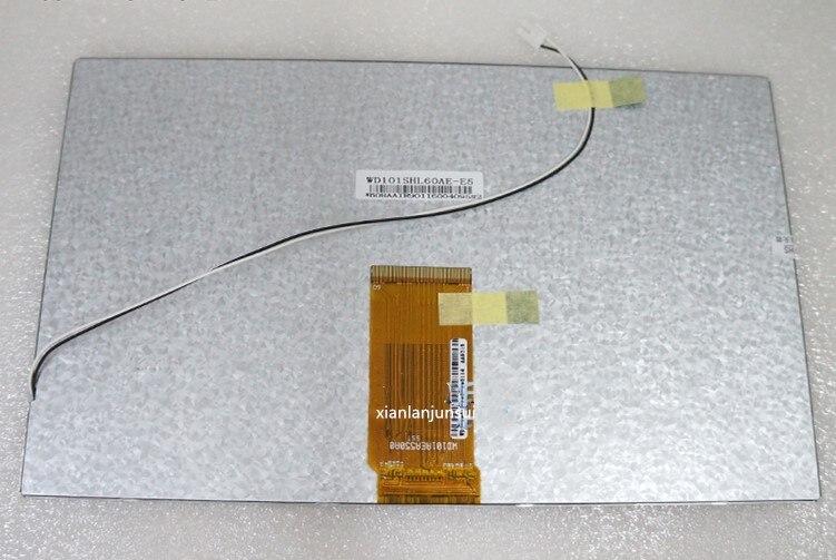 10.1 inch 60PIN tablet LCD screen internal screen WD101SHL60AE-E510.1 inch 60PIN tablet LCD screen internal screen WD101SHL60AE-E5