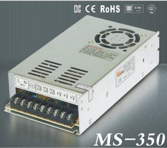 Sortie unique MINI taille de commutation d'alimentation ms-350 W 48V 7.3A ac convertisseur cc MINI pilote led