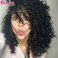 Rendas Frente Perucas 130% Densidade Do Cabelo Do Bebê Não Transformados 7A Humano cabelo Perucas Cheias Do Laço Curly Natural Da Linha Fina Virgem Cheia Do Laço perucas