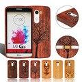 Природных 100% Ручной Multi-Pattern Жесткий деревянный Бамбука Протектор Кожа Случае Крышка Shell Для LG G2/G3/G4