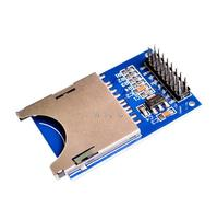 Módulo de lectura y escritura de tarjeta SD chip único microordenador SD interfaz SPI tarjetas SD enchufes leer Módulo de escritura para arduino