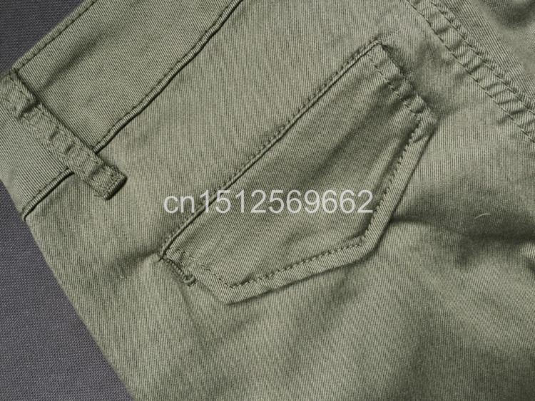 Army Green Jeans Women 13