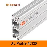 40120 Алюминиевый Профиль EN Стандартные скобы DIY промышленный AL экструзионный стиль CNC 3D DIY принтер верстак конструкция CE ISO