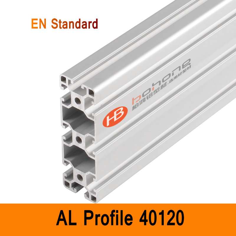 40120 profilé EN Aluminium supports Standard bricolage industriel AL Extrusion Style CNC 3D bricolage imprimante etabli Construction CE ISO