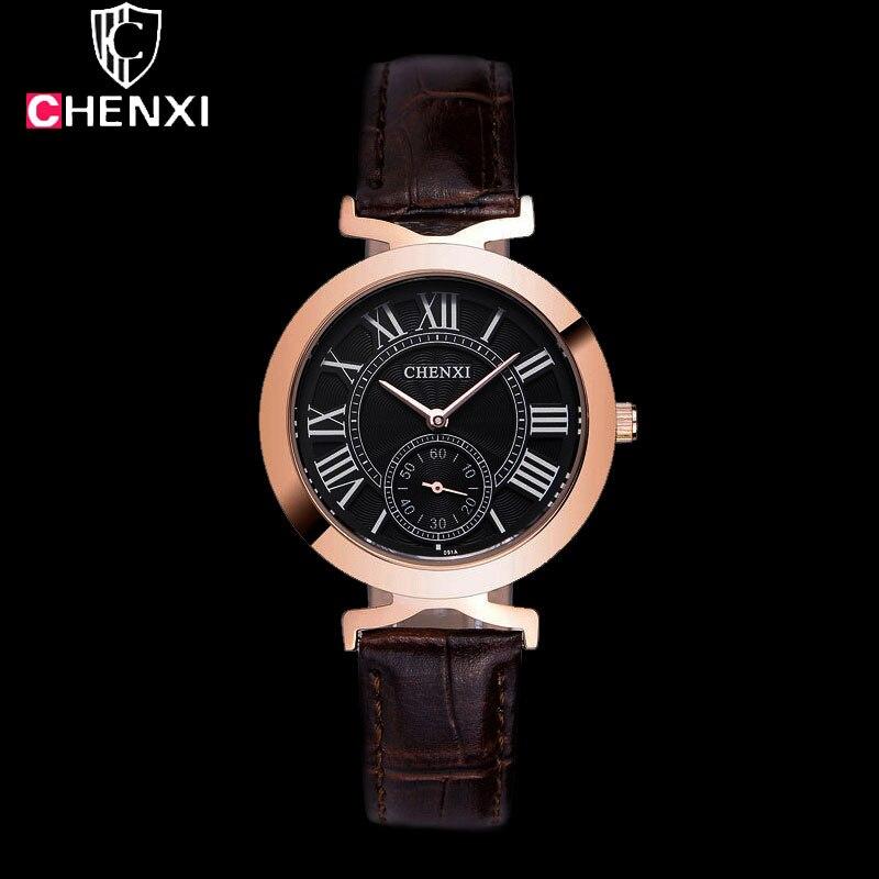 CHENXI 2017 Rose Gold Wrist Watch s