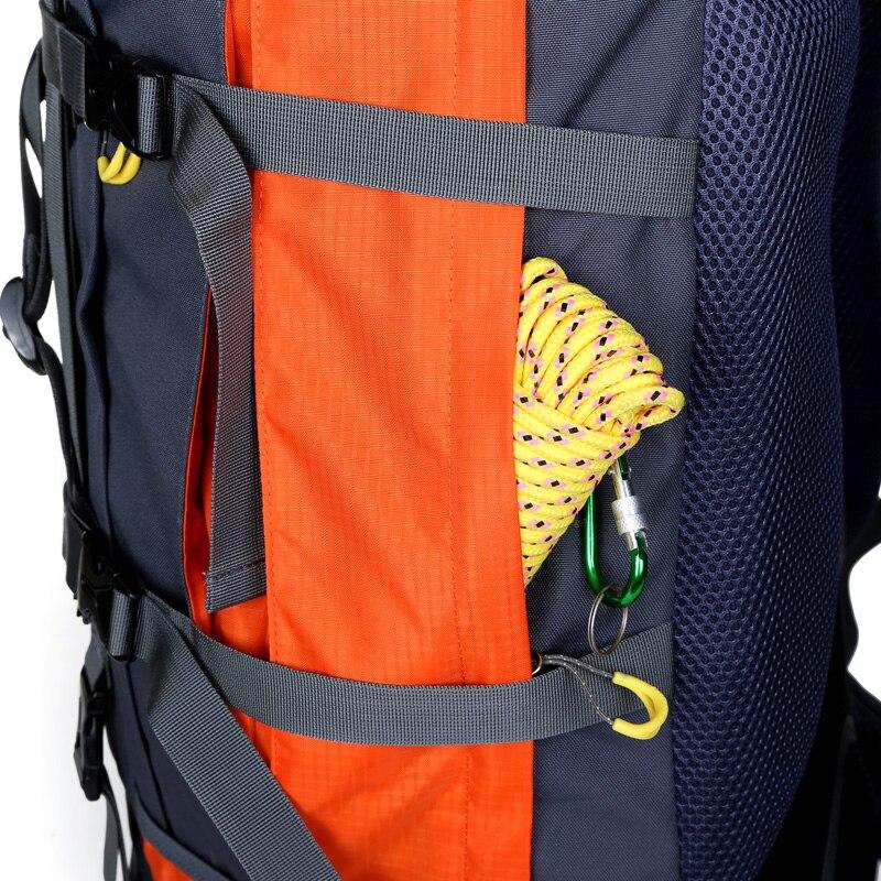 80L grand sac à dos extérieur Camping voyage sac randonnée sac à dos unisexe sacs à dos imperméable sport sacs escalade paquet - 5
