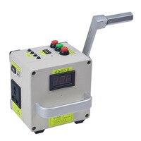 Pequena-escala manivela gerador carregador de telefone portátil fonte de alimentação carregador de emergência