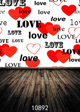 SHENGYONGBAO  Art Cloth Custom Photography Backdrops Prop Valentines day Theme Background 10892