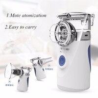Handheld MINI Portable Steaming Devices Ultrasonic Nebuliser Inhaler Nebulizer Mesh Humidifier Atomizer Respirator