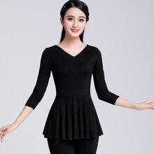 Plus Size 6XL Modal Office Ladies Work Elegant Blouse Grid Long Sleeve Fall Top Women 2019 Shirt Soft