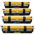 Цветной тонер-картридж для Epson C1600 C1600/CX16N S050557 S050558 S050559 S050560  бесплатная доставка