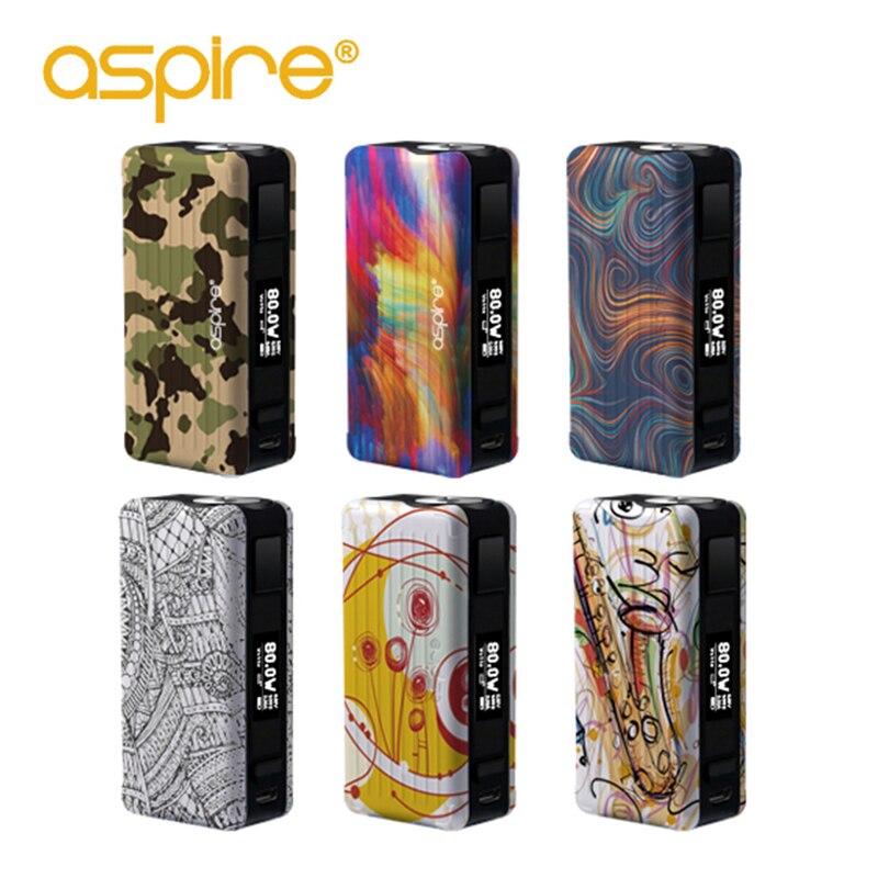 цена Vape Mod Original Aspire Puxos Mod Support 21700/20700/18650 Battery Vaporizador Electronic Cigarette box mod for Puxos Kit