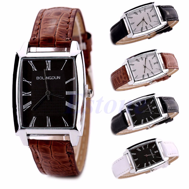 Top Fashion Luxury Men Watch Stainless Steel Band Sport Military Quartz Wrist Watches Casual relogio relojes mujer 2016 fashion alloy band stainless steel case sport military quartz wrist square men s watch relogio feminino