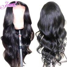 13*4 парики из натуральных волос на кружеве предварительно сорванные парики из кружева 150% плотность бразильские парики с волнистыми волосами для женщин