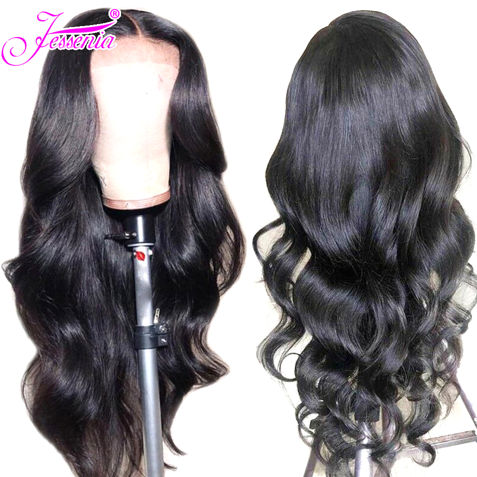 13*4 Lace Front Human Hair Wigs Pre Plucked Lace Wigs 150% Density Brazilian Body Wave Wigs For Women