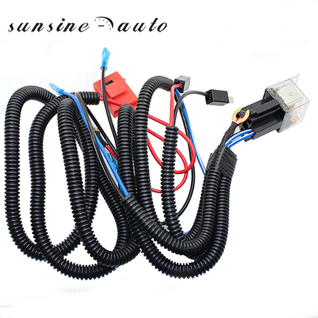 12v truck car horn relay wiring harness kit for grille mount blast rh aliexpress com wiring harness kits for car stereos car audio wiring harness kits