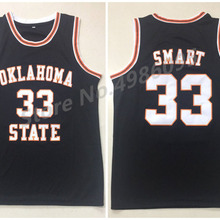 aa319716f40 Oklahoma State College #33 Marcus Smart Black Retro Basketball Jerseys Mens  Stitched Custom Any Number Name