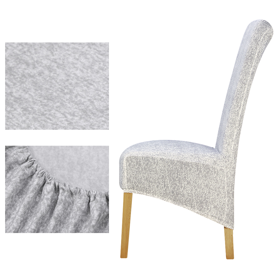 High back Print long back Chair Cover Europe style seat covers Chair Covers Hotel Party Banquet housse de chaise home decoration