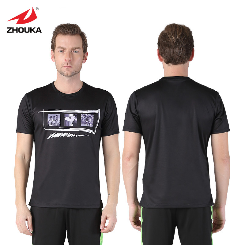 Caritatevole 2019 Nuovo Di Alta Qualità Di Marca Di Abbigliamento Sportivo T-shirt Da Uomo Casual Manica Corta O-collo Di Modo Stampato Pantaloni Di Addestramento Del Cotone T Shirt
