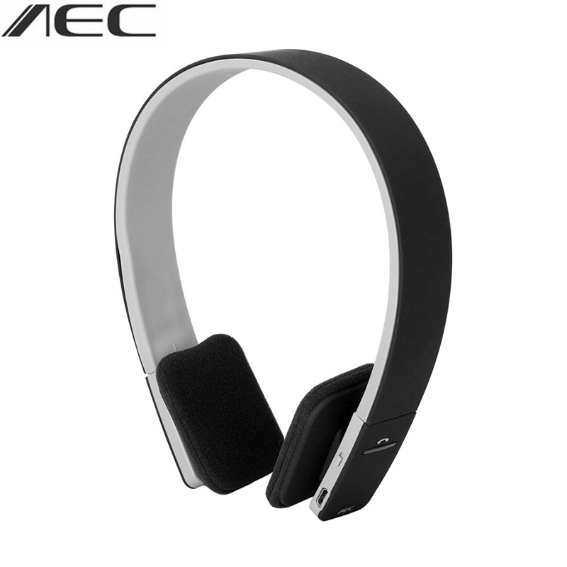 100% Brand New AEC Wireless Bluetooth Stereo Headphones Earphone Headset For IOS Android Smartphone Table PC Headphone new k6 bluetooth headset earphone voice command auto answers for iphone android busiess bluetooth headphones with storage box