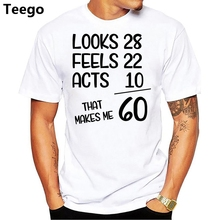 Funny 1957 60th Years Old Birthday Gift T Shirt Printed Summer Style Tees Male Harajuku