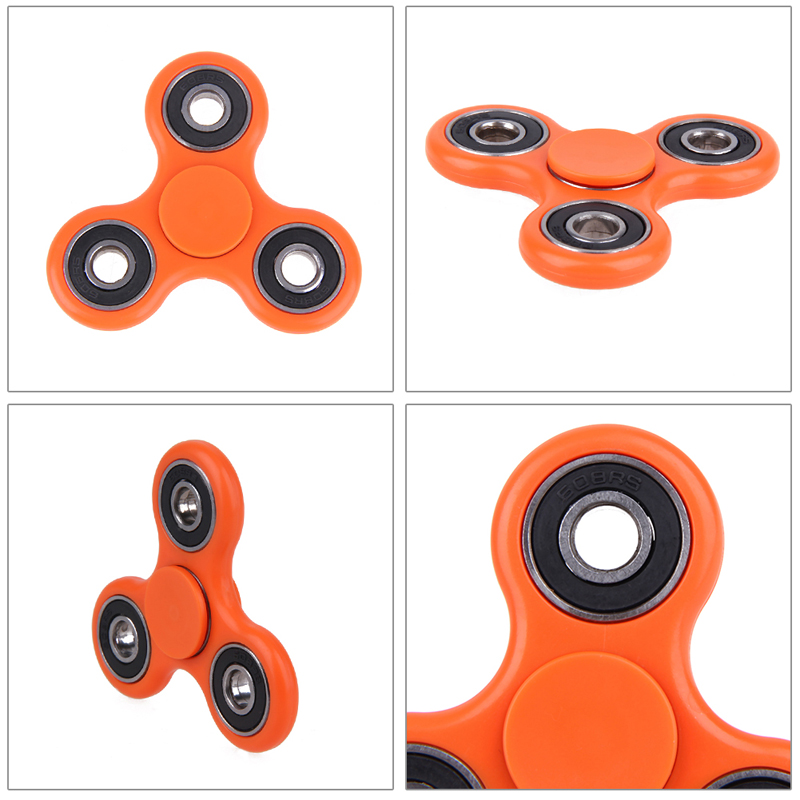 Hot Sale 6 Colors Tri-Spinner Fidget Toy EDC Hand Spinner For Autism and ADHD hand spinner Anxiety Stress Relief