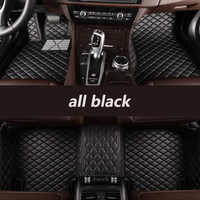Kalaisike coche personalizado alfombras de piso para Mercedes Benz todos los modelos E C GLA GLE GL DE LA CIA GLk ml CLS S R A B CLK SLK G GLS GLC vito viano