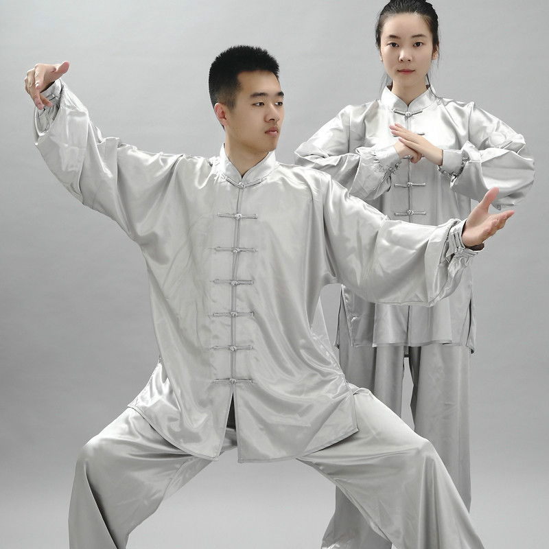 Tai Chi Uniform Competition Stage Dress Wushu Martial Arts Clothing Women  Taiji Morning Exercise Clothes Men Kung Fu Suit Set 90