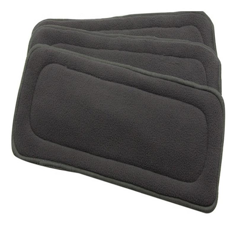 Top 5st / lot 4 lager Micro Fiber Nappy Tvättbara Återanvändbara - Blöjor och potträning
