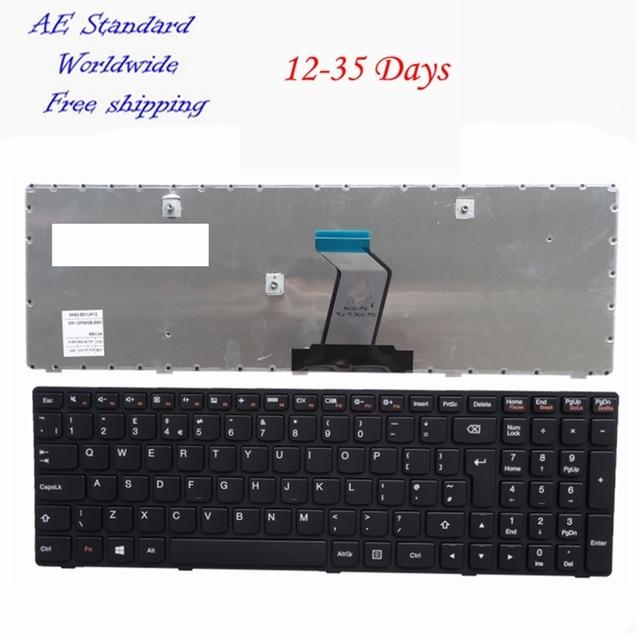 REINO UNIDO Preto teclado Do Laptop Novo Para Lenovo G500 G505 G510 G700 G710