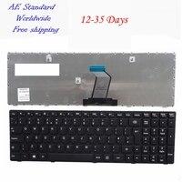 Reino unido preto novo teclado do portátil para lenovo g500 g510 g505 g700 g710