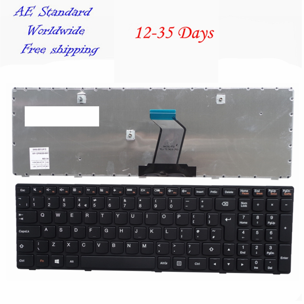 UK Black New Laptop keyboard For Lenovo G500 G510 G505 G700 G710 сверло bosch x line 14 14 предметов 2607017161