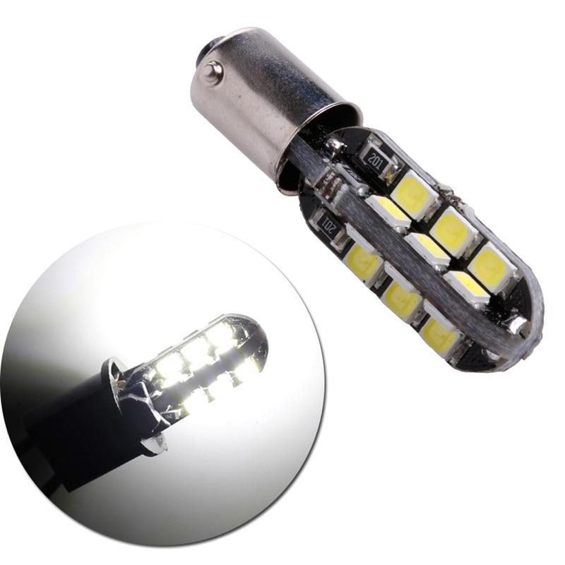 BA9S-2835-24LED conduziu a lâmpada do carro do bulbo branco fresco dc 12 v