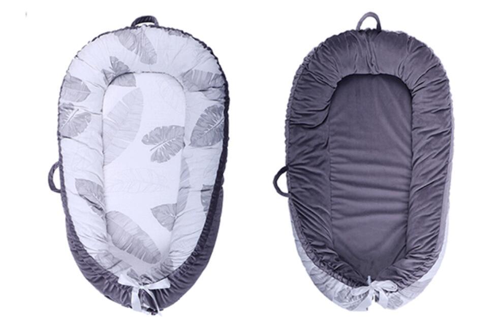 Детская кроватка-гнездо переносная съемная и моющаяся кроватка дорожная кровать для детей Младенческая Детская Хлопковая Колыбель - Цвет: Full dismountable