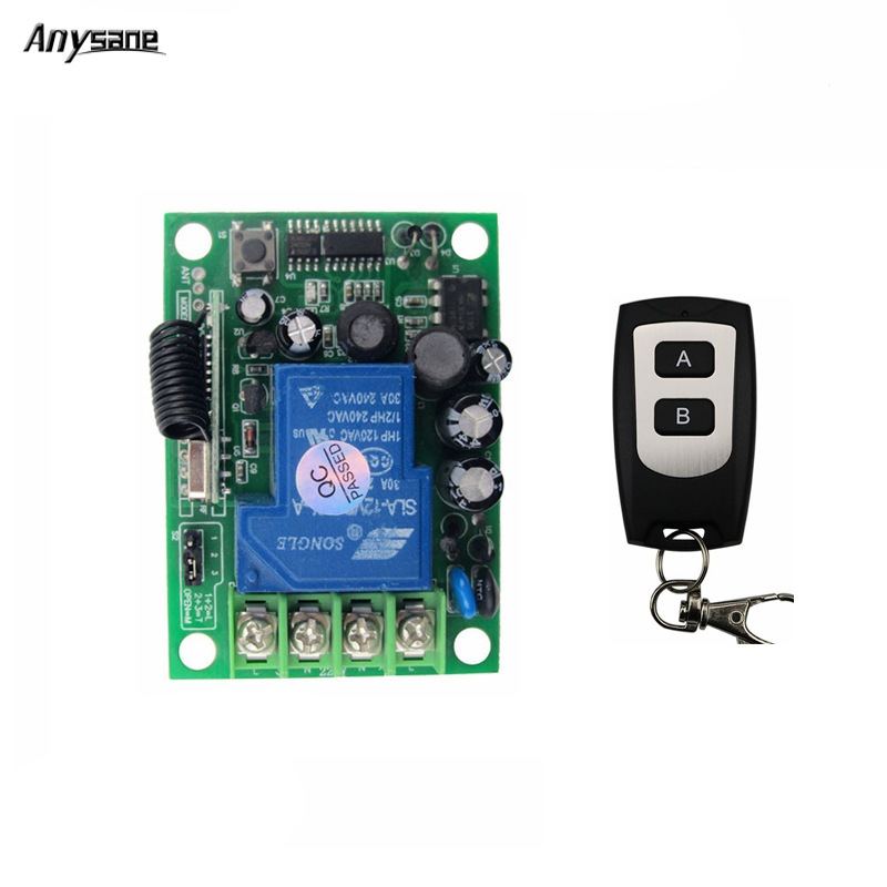 Universal wireless remote control lighting switch AC220V rf relay receiver 433mhz control controller transmitter for smart home 315mhz 433mhz ac 85v 250v 4ch rf wireless remote control switch 3pcs transmitter and receiver for rolling gate electric doors