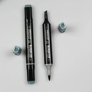 Image 5 - Finecolour EF102 Soft Brush Professional Sketch Double Ended Alcohol Based Ink Gray Series 8 Colors Art Markers