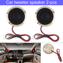 2PCS 1.5 Inch 150W  Car Speaker Q25 Aluminum Alloy High Efficiency Mini Dome Tweeter Speakers for Auto Audio System