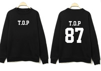 k pop Bigbang bigbang kpop clothes GD peripheral round neck Korean couple loose sweatshirt exo kpop hoodiebigbang kpop news