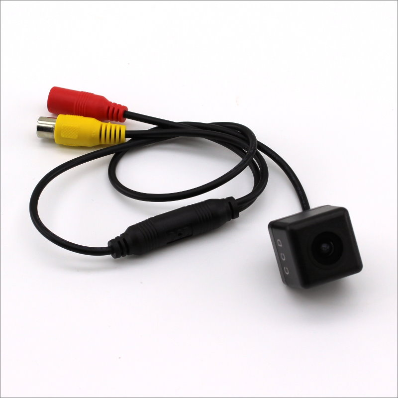 5V 6V 12V Auto Kamera Kopf Ohne Halter, video Power Drähte/HD Reverse Backup Rückansicht Parkplatz Kamera