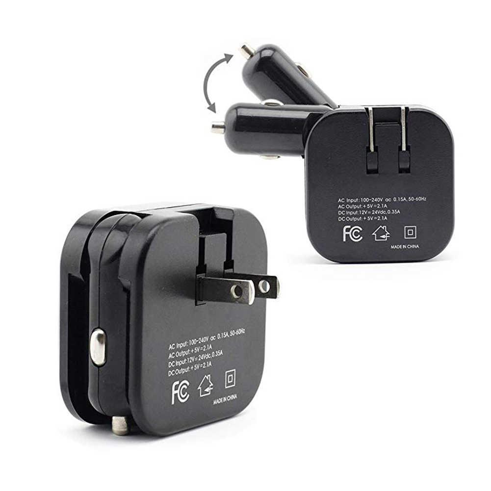 デュアル USB 高速車の充電器 Xiaomi 9 redmi k20 プロ iphone × XR iPad のミニサムスン S10 9 8 7 6 電話の壁旅行充電器