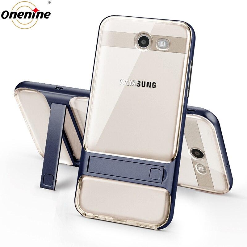 Kickstand Silicon Θήκες για Samsung Galaxy J3 2017 Emerge - Ανταλλακτικά και αξεσουάρ κινητών τηλεφώνων - Φωτογραφία 5