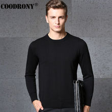 Free Shipping Autumn Winter Cashmere Sweater Men Brand Clothing Knitted Wool Sweaters Pure Color O-Neck Pullover Shirt Men 66218