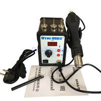 High Quality Youyue 858D Hot Air Gun ESD Soldering Station LED Digital Desoldering Station 700W Heater