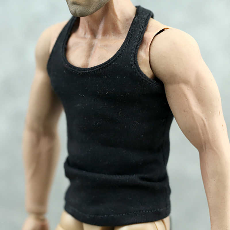 """1//6Scale Casual Solid White Underwear Boxers fit 12/"""" Hot Toys MC Toys Figure"""