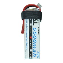 XXL Power Lipo Battery 5500mAh 14.8V 4S 50C Li-Po Battery for RC Helicopter Qudcopter Car Airplane RC Parts