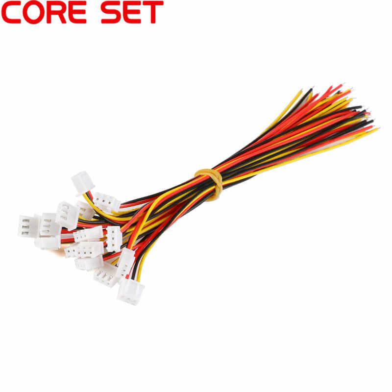 10 sztuk XH2.54 2/3/4/5/6 rozstaw pinów 2.54mm złącze kabla drutu XH wtyk męski i żeński kabel ładowania baterii 200MM długość 26AWG