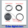 Reverso Macro Adaptador 4en1 Protección Conjunto Re-instalado 52mm UV filtro para D80 D90 D3100 D5100 D3300 D5300 D7000 D5500 D7100