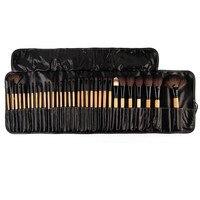 Great Discount 32Pcs Natural Makeup Brushes Makeup Artist Professional Cosmetics Set Best Quality Bridal Makeup Tools