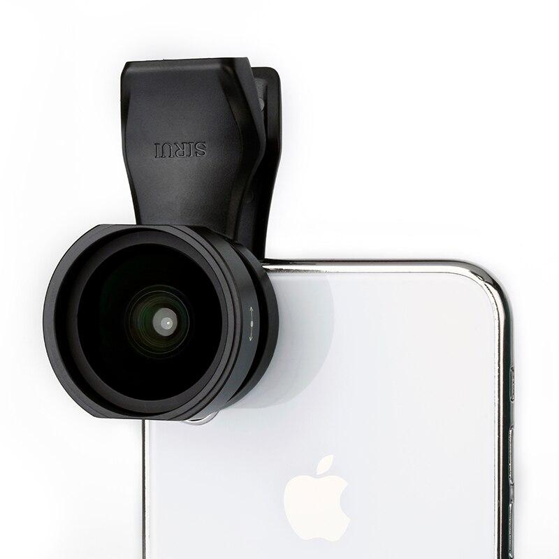 Sirui 18 MM Grand Angle lentille de téléphone HD 4 K téléphone-appareil photo Lentilles pour iPhone Xs Max X 8 7 Huawei P20 pro Samsung S8 S9 Clip-Sur La Lentille - 2